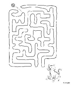 free coloring pages Labyrinth