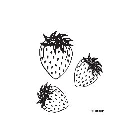 free coloring pages Strawberries