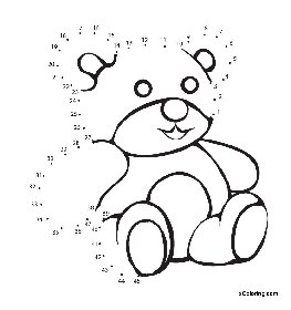 free coloring pages Teddy Bear