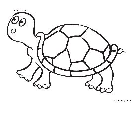 free coloring pages Tortoise