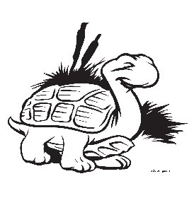 free coloring pages Turtle